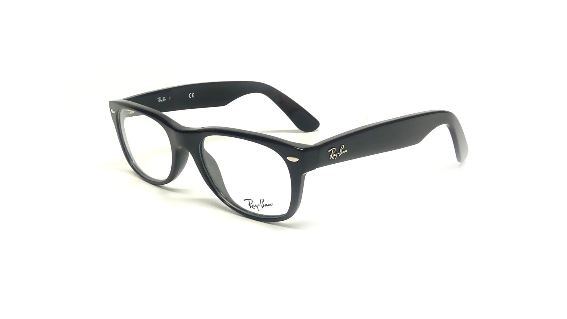 9a5596b47618c Eyeglasses Ray-Ban New Wayfarer Black RX5184 RB5184 2000 52-18 ...