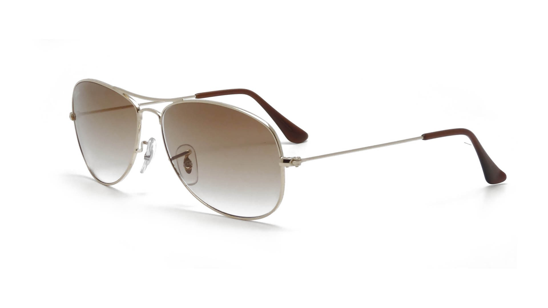 08e31706bbaca Sunglasses Ray-Ban Cockpit Gold RB3362 001 51 56-14 Large Gradient