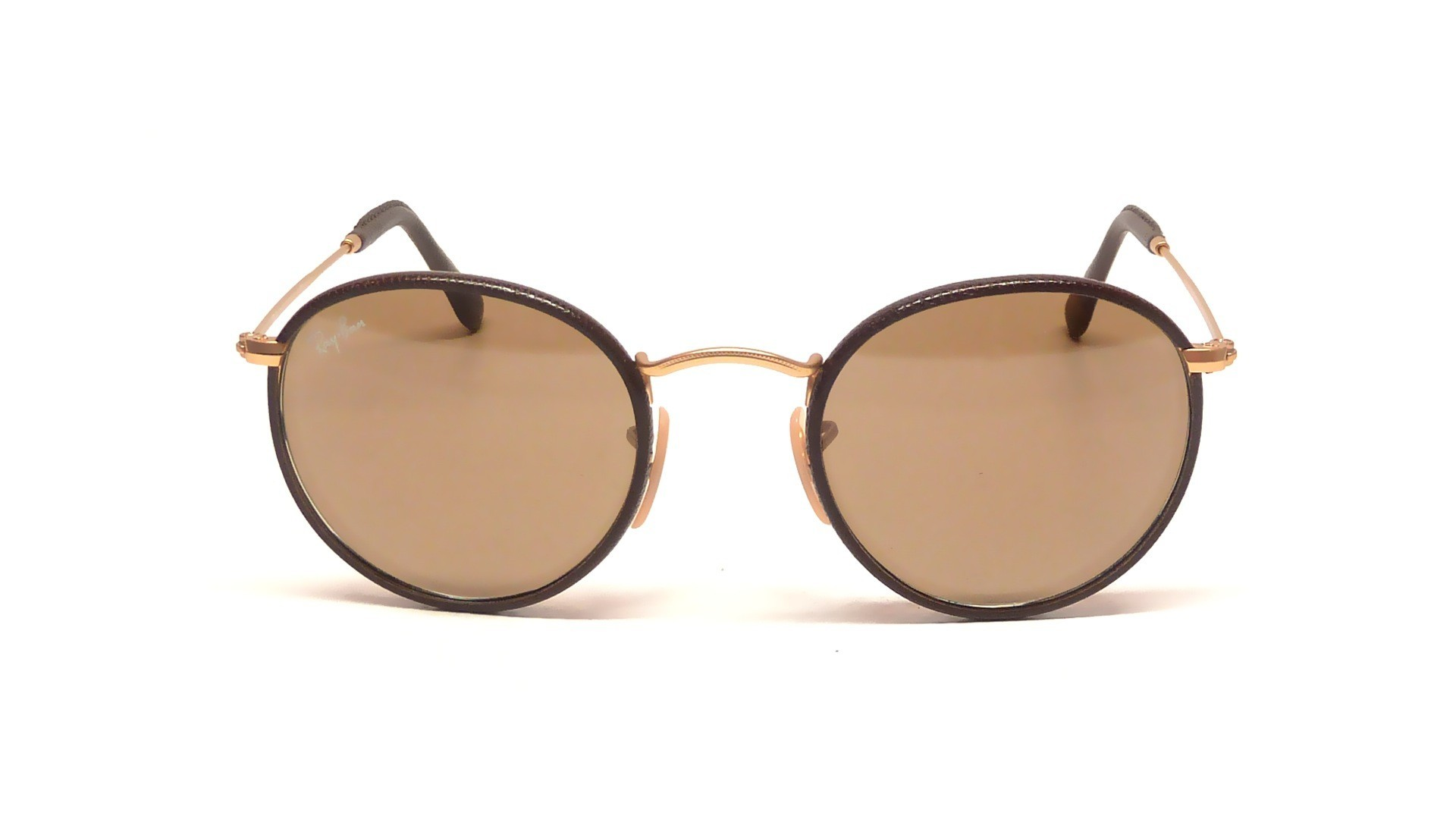 70590cf58d Sunglasses Ray-Ban Round Craft Brown RB3475Q 112 53 50-21 Medium