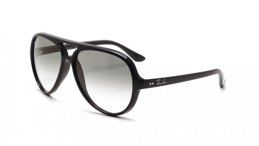 6204ce7bd7 Ray-Ban Cats 5000 Black RB4125 601 32 59-14