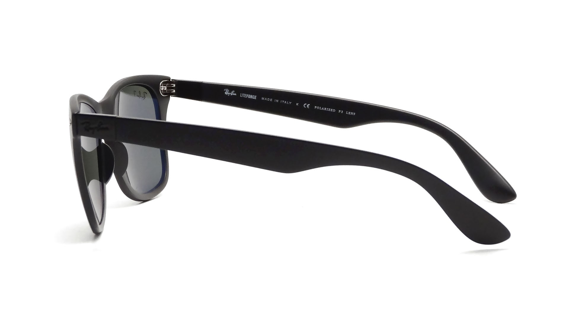 db41d62bc23 Ray-Ban P Wayfarer Liteforce Black RB4195 601S 9A 52-20 Polarisés ...
