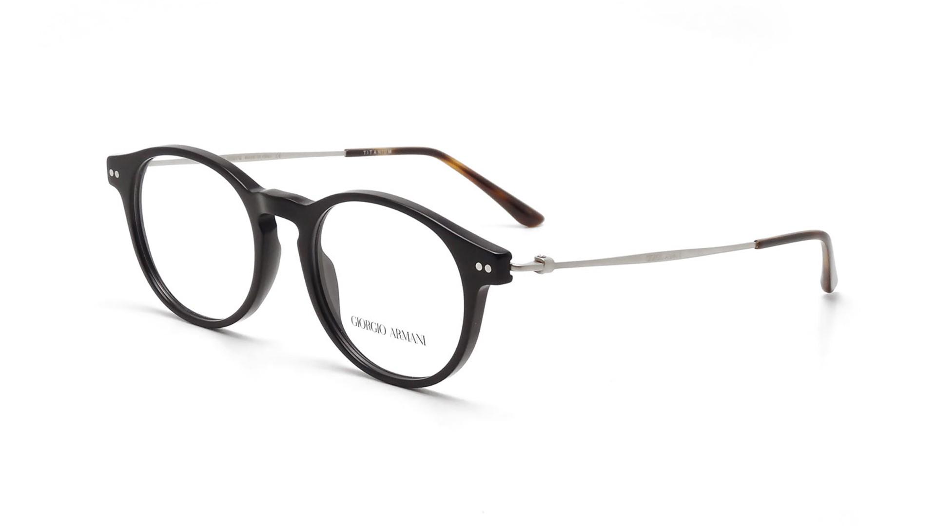 d51f9e50cf0c Eyeglasses Giorgio Armani Frames of Life Black AR7010 5017 49-18 Medium