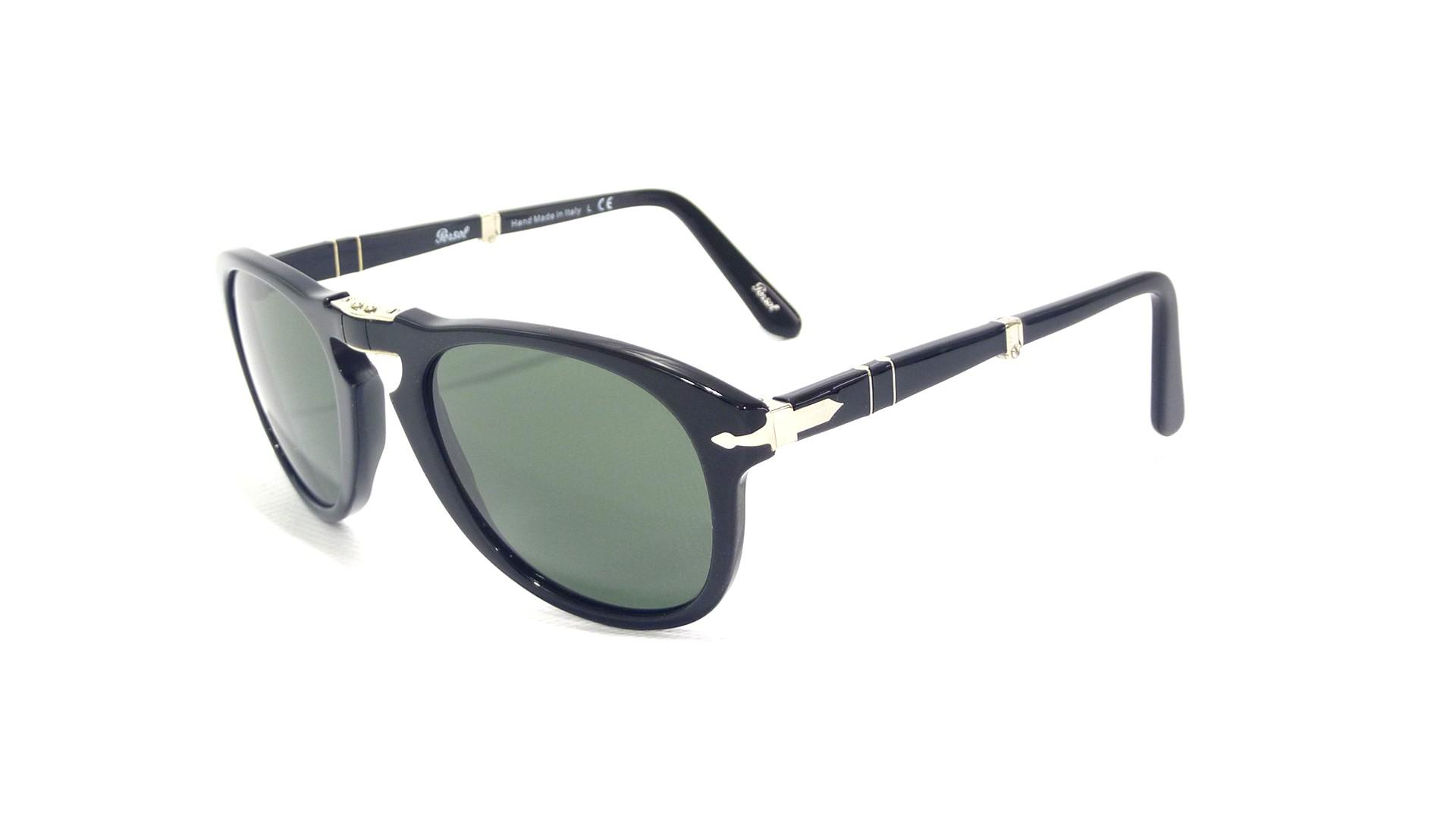 adf5f7c125 Sunglasses Persol PO0714 95 31 52-21 Small Black Folding