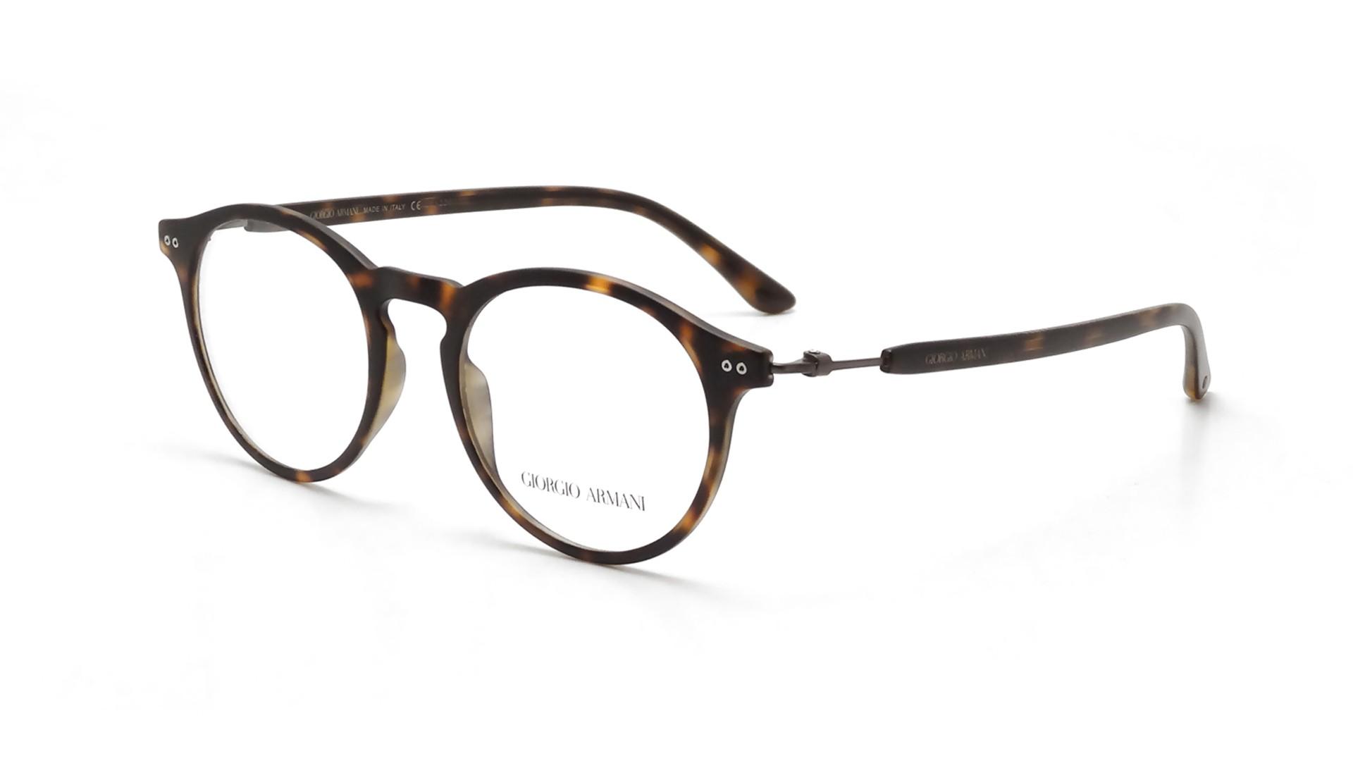 00b6dc37dd9 Eyeglasses Giorgio Armani Frames of Life Tortoise AR7040 5089 48-19 Medium