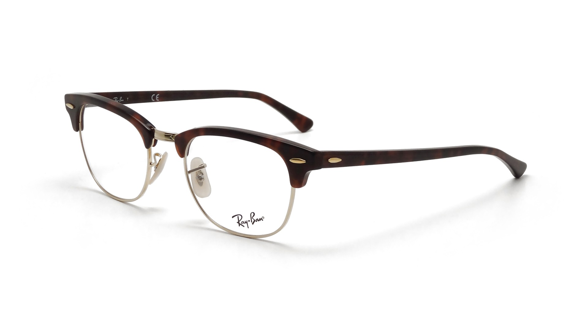 lunettes de vue ray ban clubmaster tortoise rx5154 rb5154 2372 51 21 visiofactory