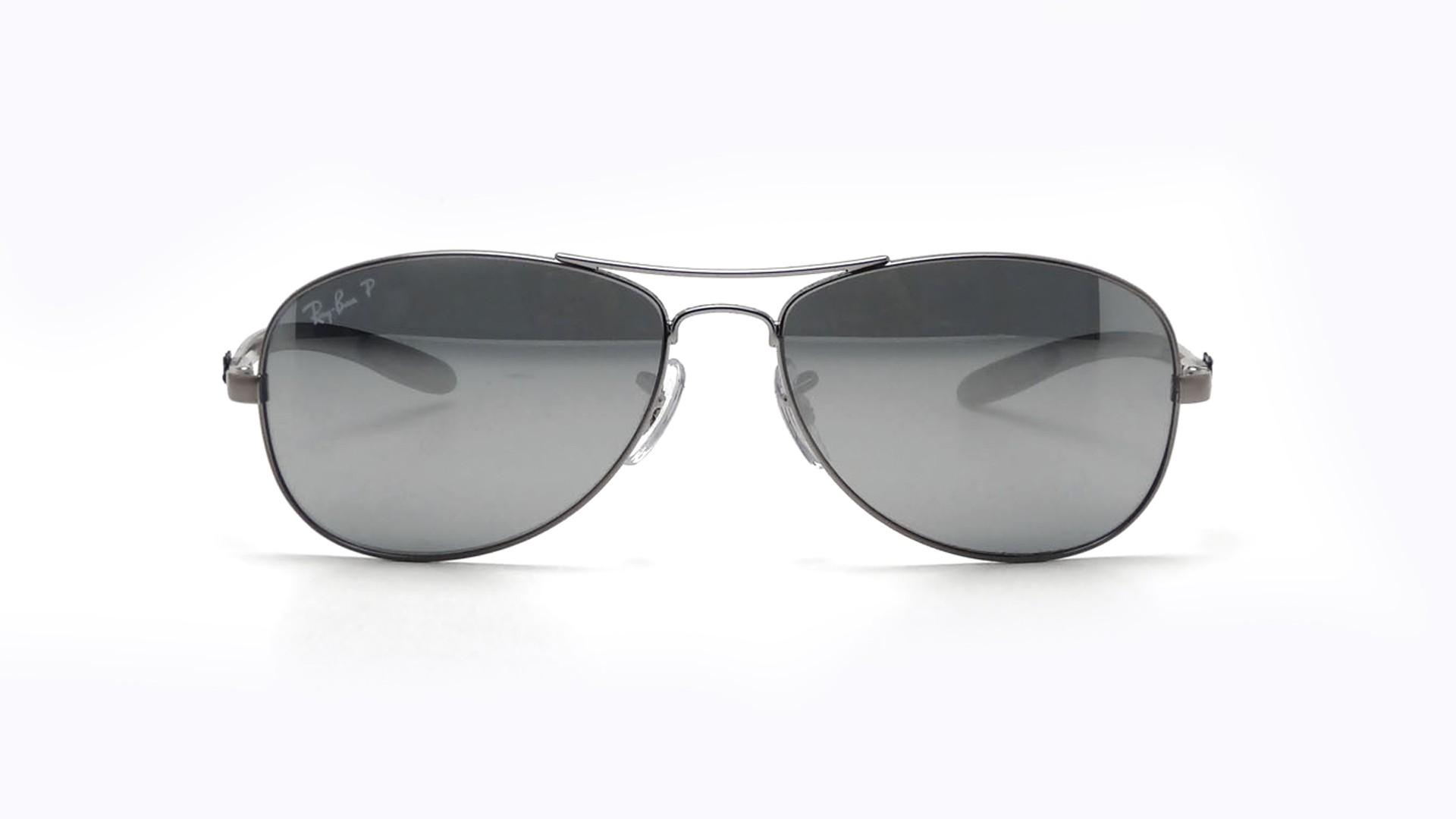 f72396ce7d5 Sunglasses Ray-Ban Fibre Carbon Grey RB8301 004 K6 56-14 Medium Polarized  Mirror
