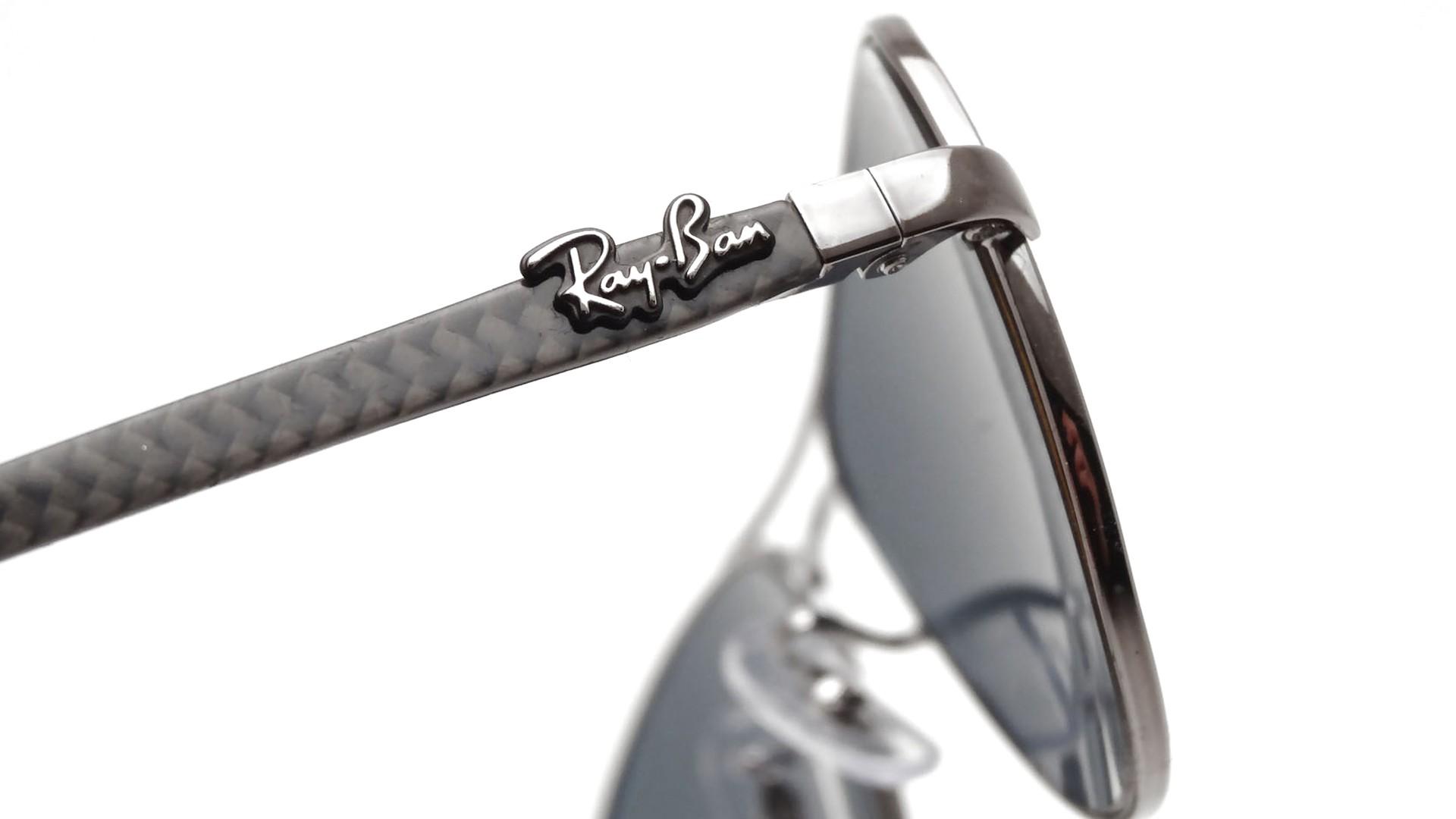 057d63cbd86 Ray-Ban P Fiber Carbon Grey RB8301 004 K6 56-14 Polarisés