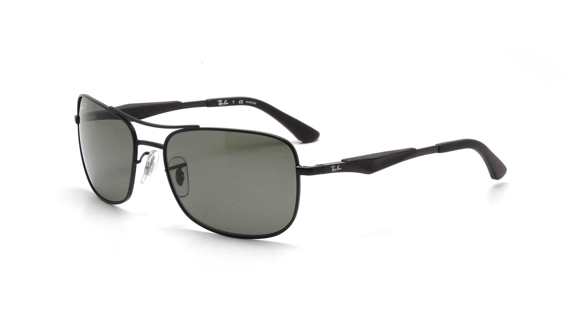 ba2c1cedba Sunglasses Ray-Ban RB3515 006 9A 58-17 Black Large Polarized