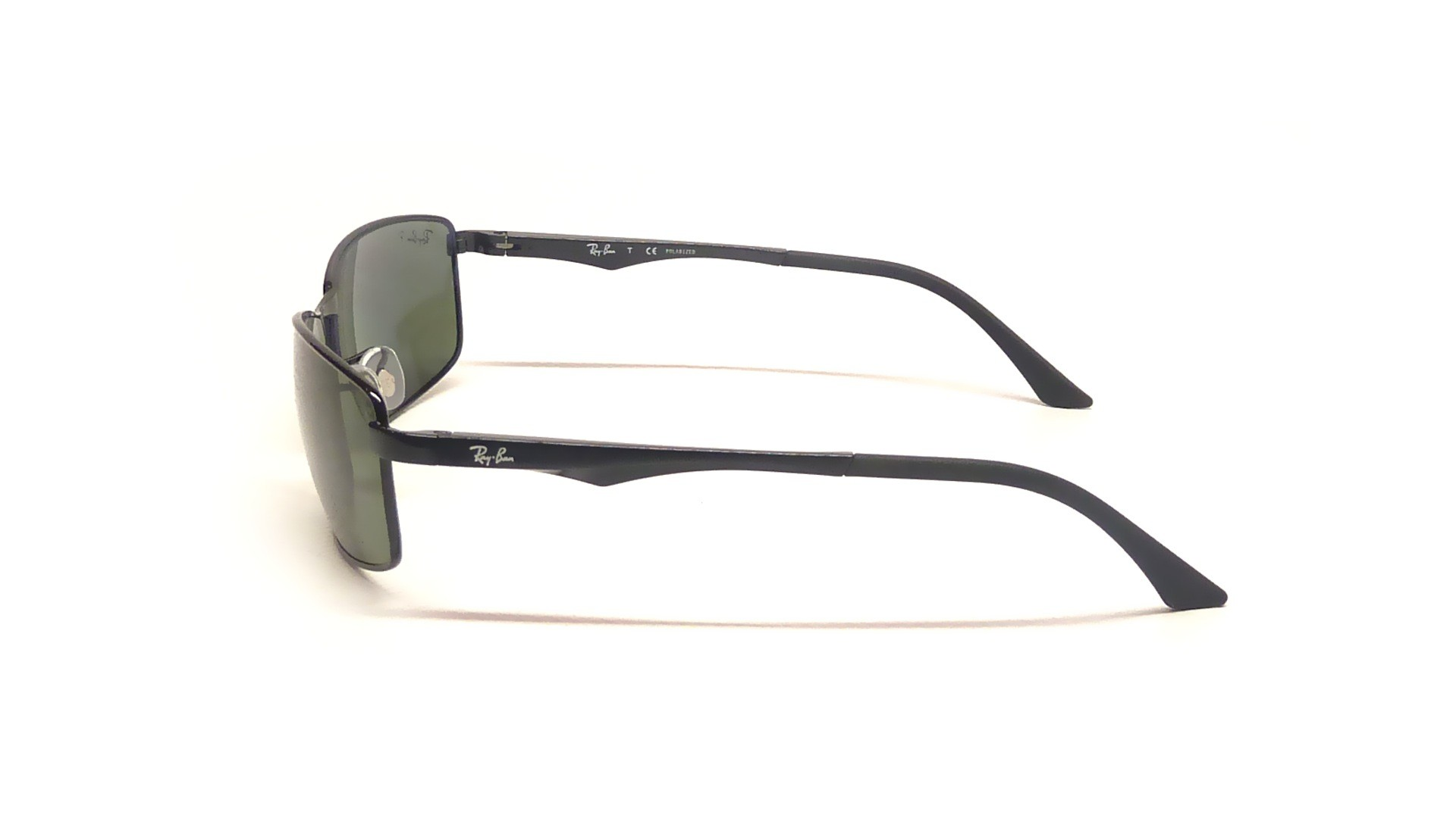 e2549b50bdfa7 Sunglasses Ray-Ban RB3498 002 9A 64-17 Black Large Polarized