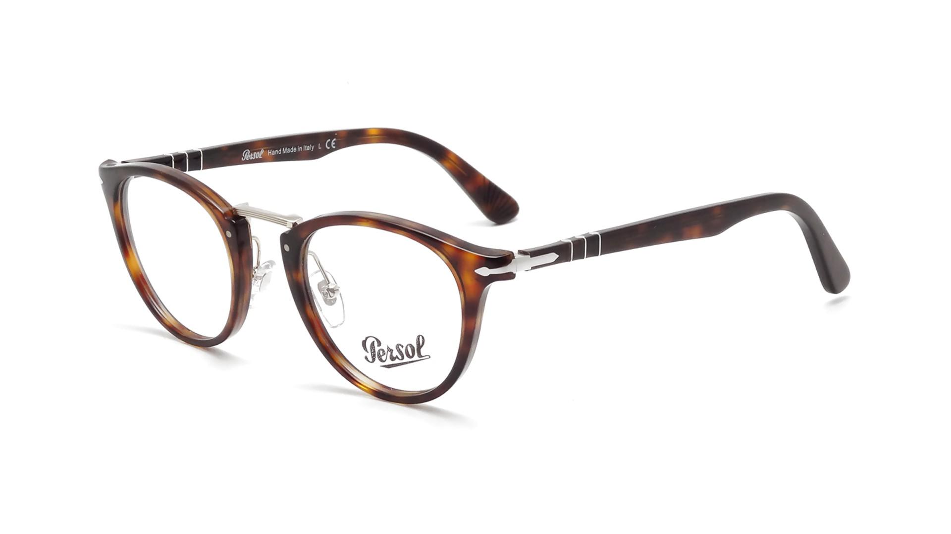 c66e0e2c9be Eyeglasses Persol Typewriter Edition Tortoise PO3107V 24 47-22 Small