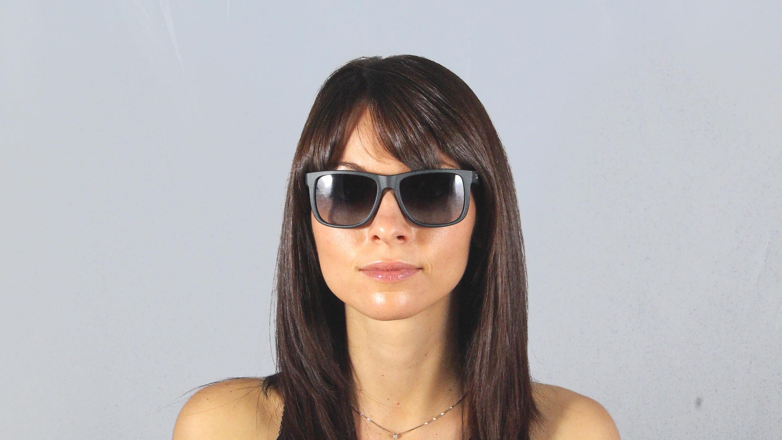 a9a874e0cab01 ... amazon sunglasses ray ban justin black rb4165 601 8g 51 16 medium  gradient 865c9 adc45