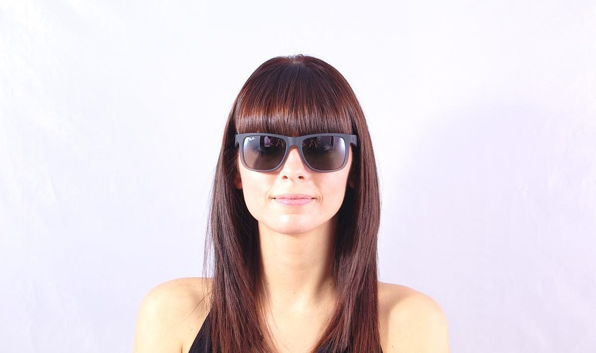 Sunglasses Ray-Ban Justin Grey RB4165 852 88 51-16 Medium Mirror 5b9104b0c2