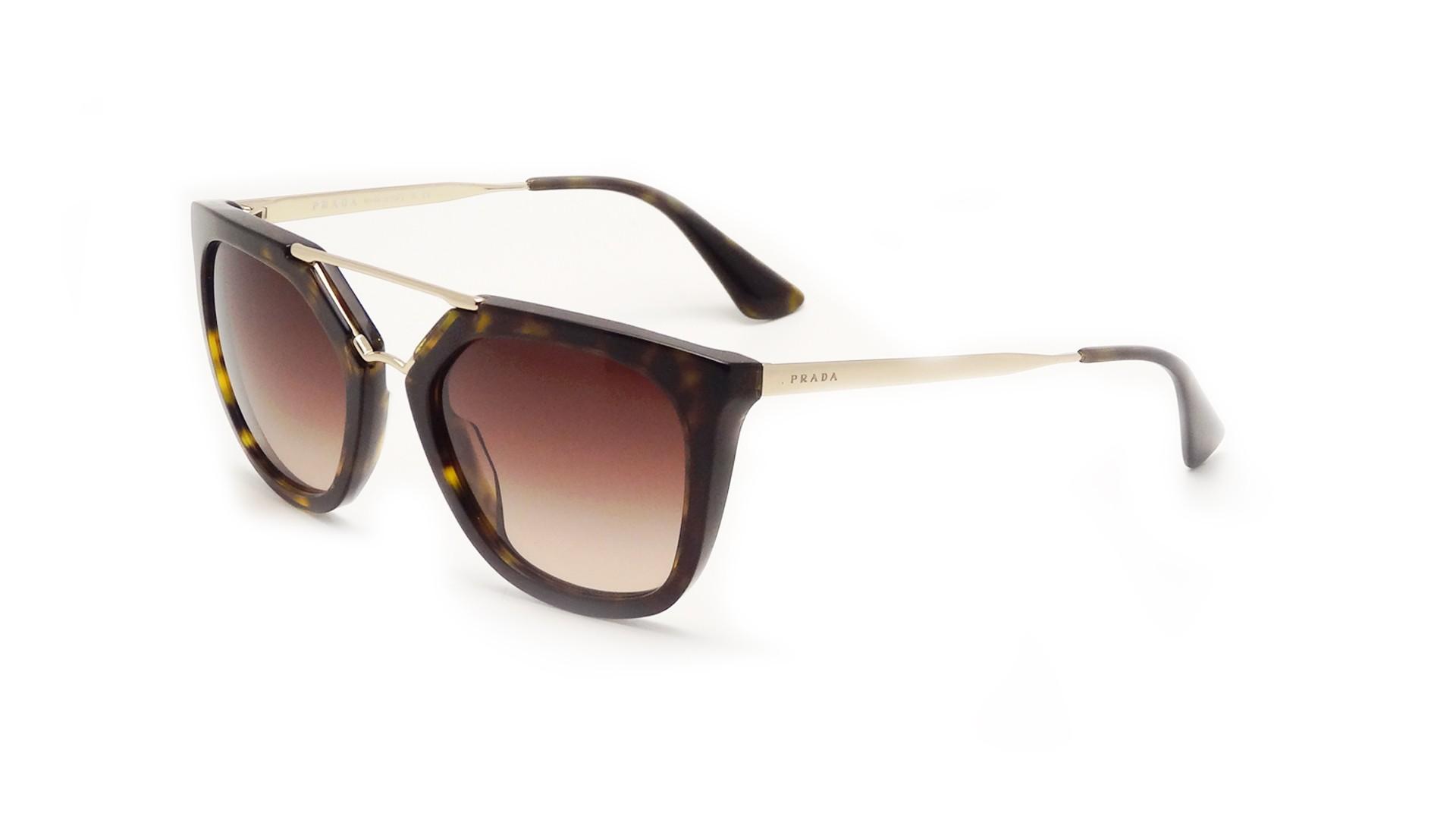 Sunglasses Prada Cinema Tortoise PR13QS 2AU-6S1 54-20 Medium Gradient 33f087944cdd