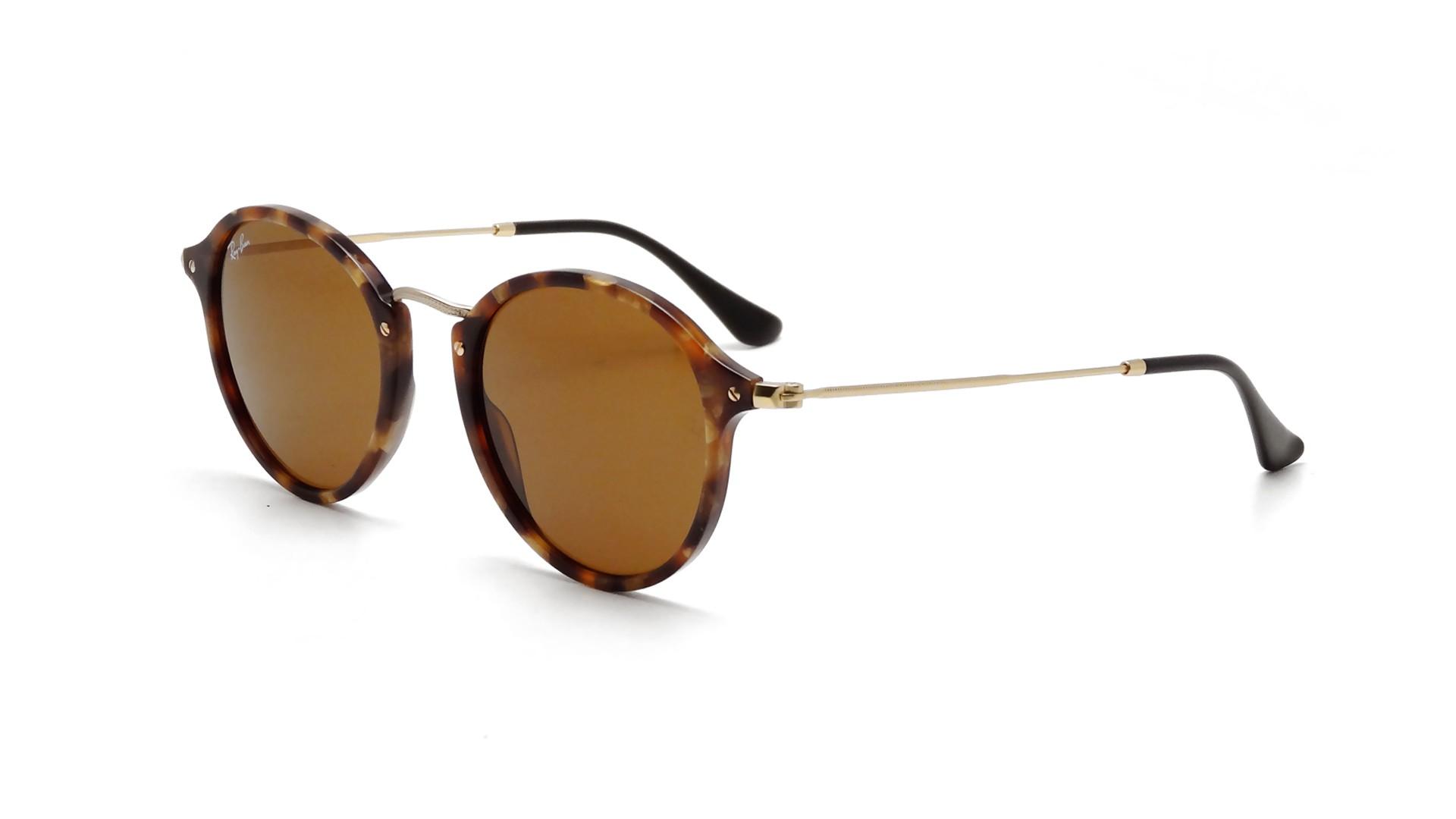 416adfc3f81 Sunglasses Ray-Ban Round Fleck Tortoise B15 RB2447 1160 49-21 Medium