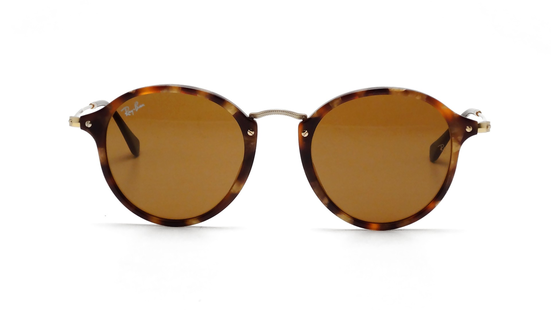 316ccc79ce Sunglasses Ray-Ban Round Fleck Tortoise B15 RB2447 1160 49-21 Medium