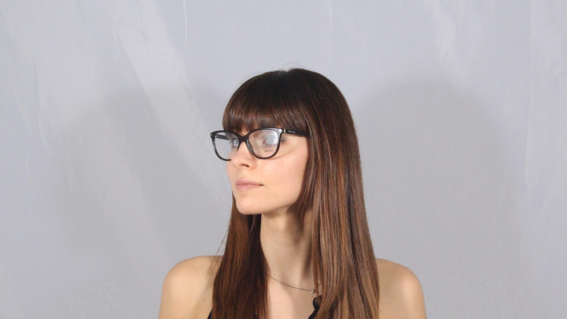 e042567e51fe Eyeglasses Prada Journal Tortoise PR14RV 2AU-1O1 54-16 Medium