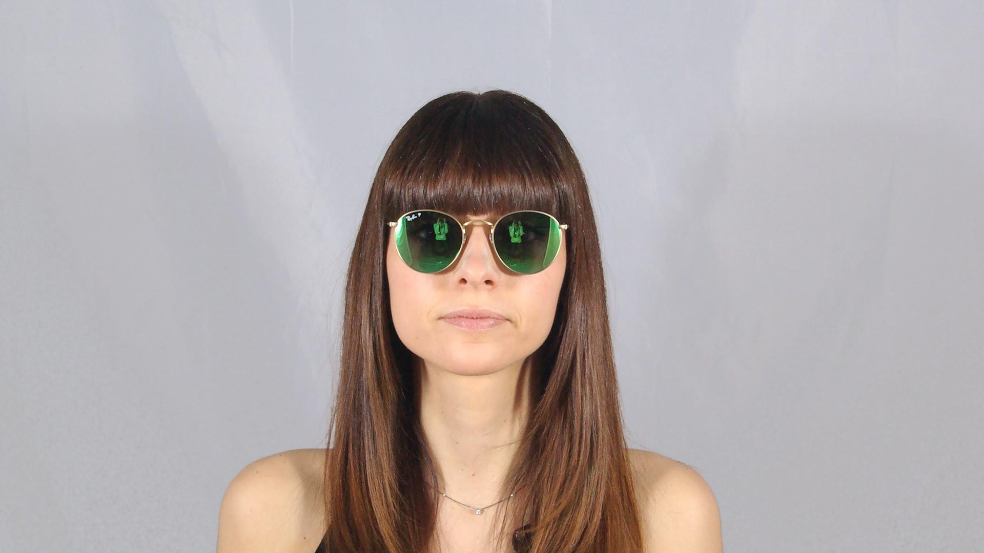 f5f9a07f30 ... order sunglasses ray ban round metal gold flash lenses rb3447 112 p9 50  21 medium polarized