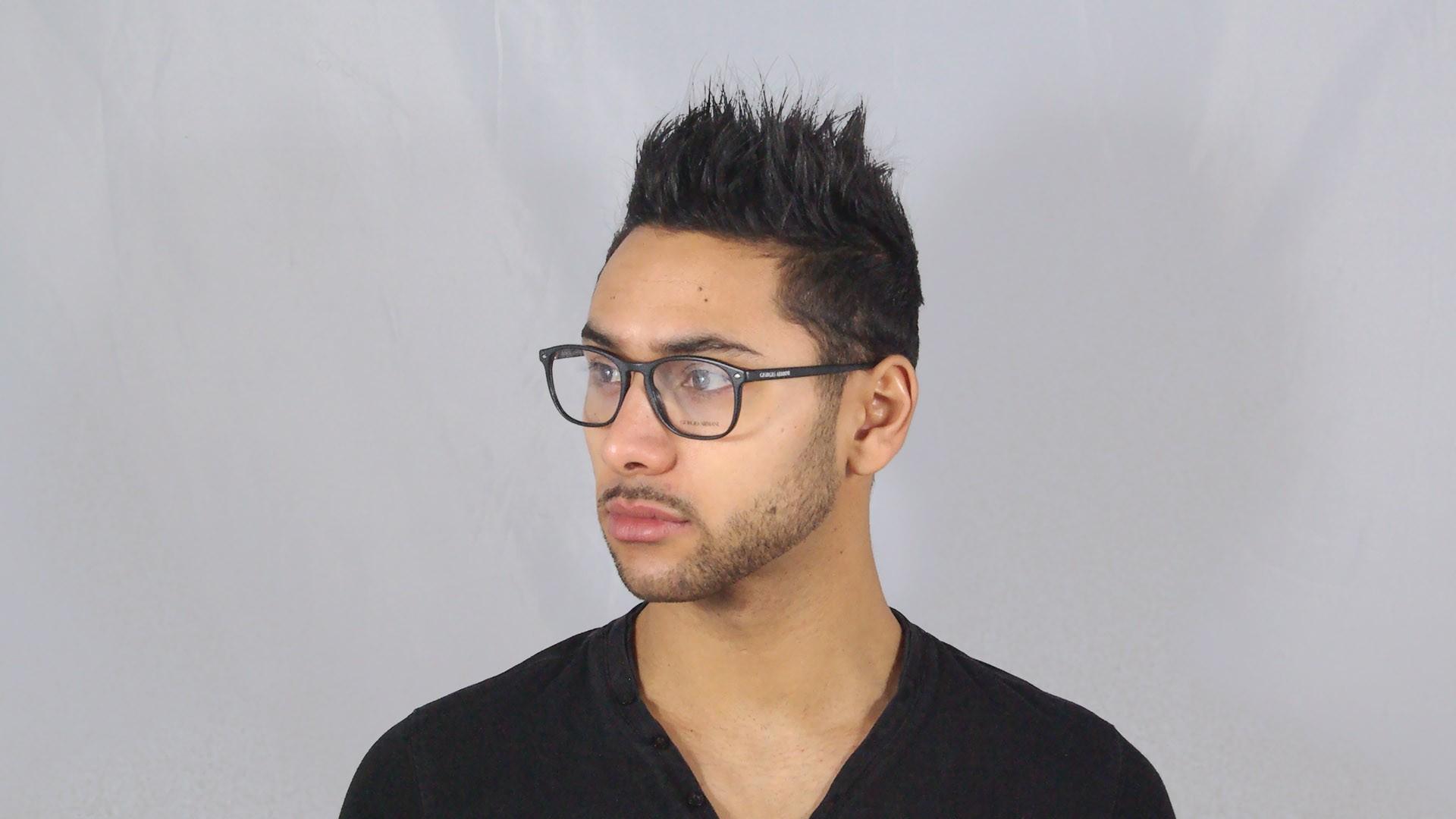 c7efdde22e3 Eyeglasses Giorgio Armani Frames of Life Black AR7003 5001 52-18 Medium