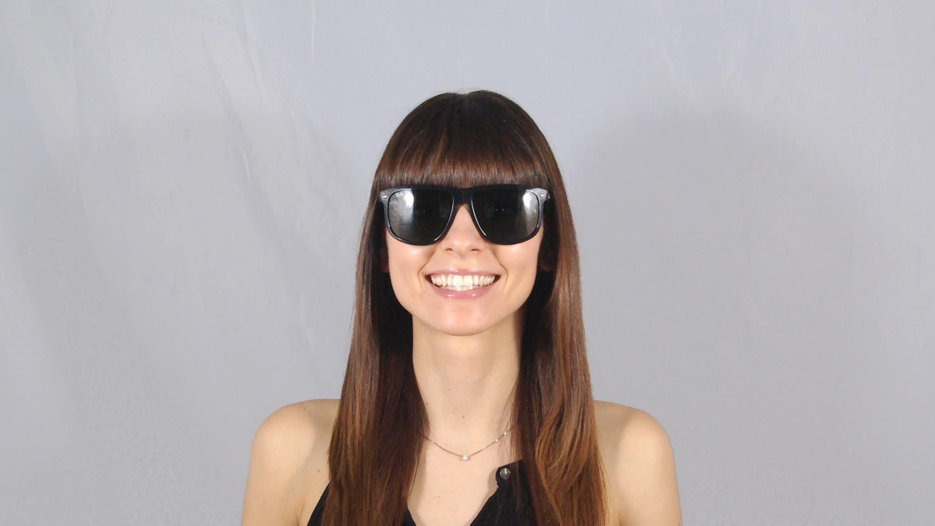 86d8e8009e6a3c Sunglasses Ray-Ban RB4147 601 58 60-15 Black Large Polarized