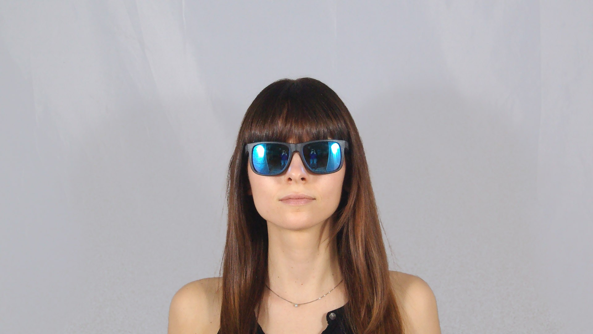 0d3d8149fa ... sweden sunglasses ray ban justin black rb4165 622 55 55 16 large mirror  36a38 e97bf