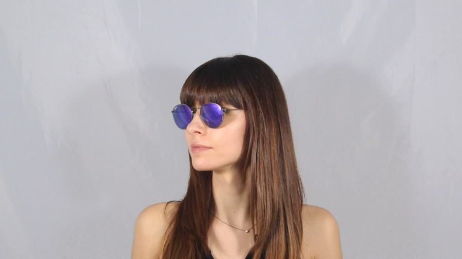 ray ban rb3447 round metall