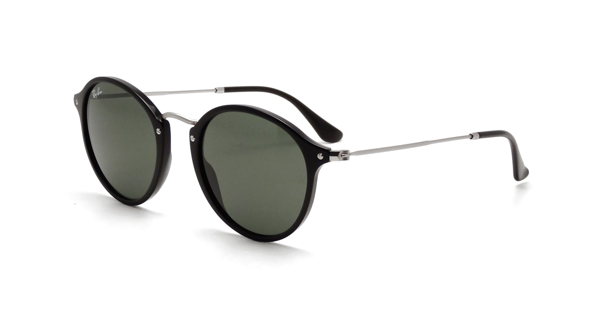 00bef3a06e Ray-Ban Round Fleck Noir RB2447 901 49-21 | Prix 95,95 € | Visiofactory