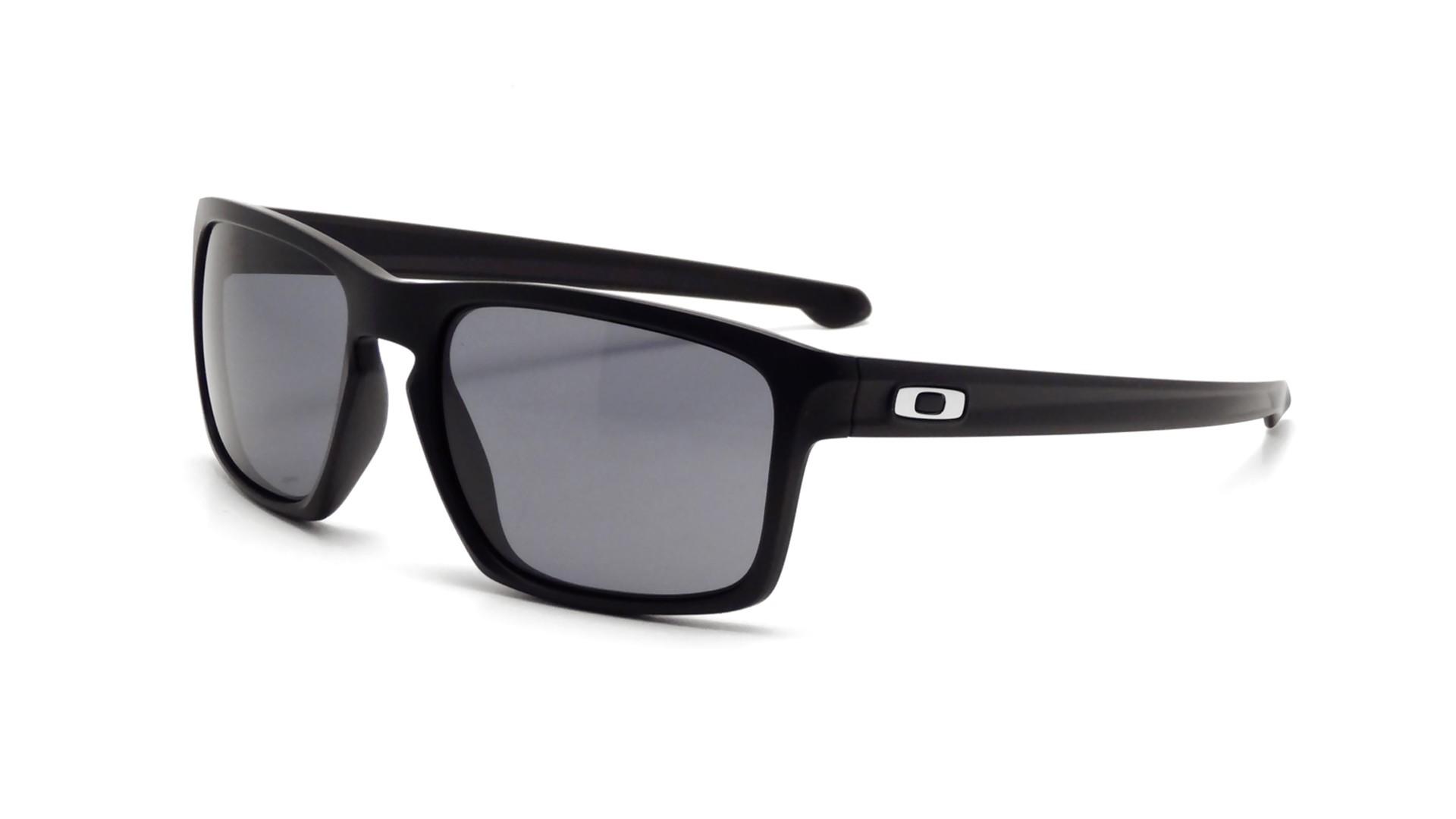 a4b28a84688 Sunglasses Oakley Sliver Black Matte OO9262 01 57-18 Large
