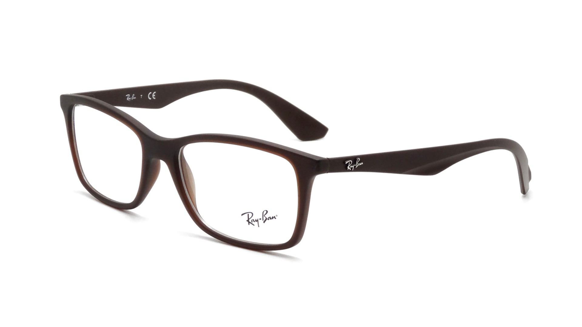 0d93cdcb21 Eyeglasses Ray-Ban Active Lifestyle Brown RX7047 RB7047 5451 54-17 Medium