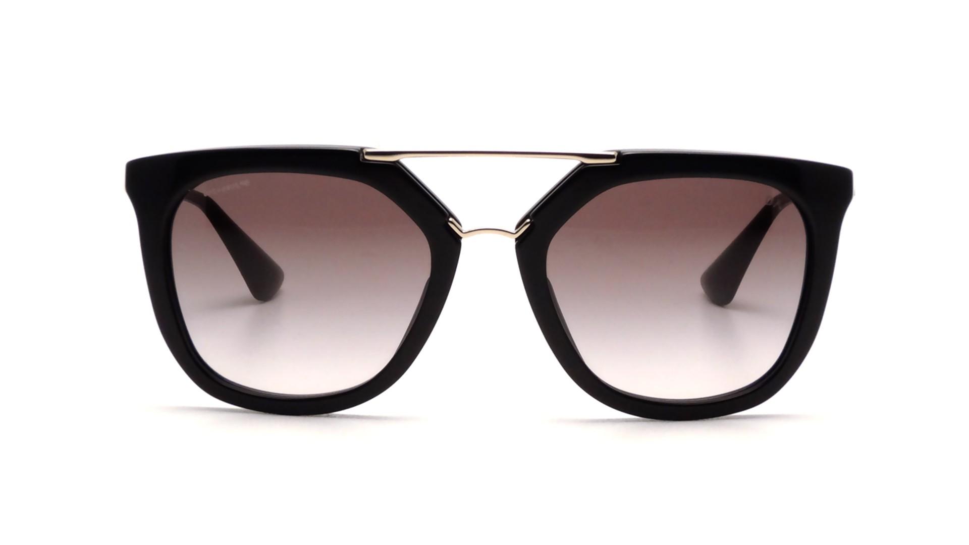 d11b7083710 Sunglasses Prada Cinema Black PR13QS 1AB-0A7 54-20 Medium Gradient