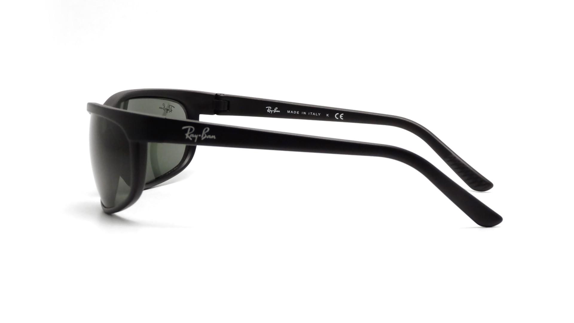 7219e3689f38 Sunglasses Ray-Ban Predator 2 Black RB07 W1847 6-19 Large