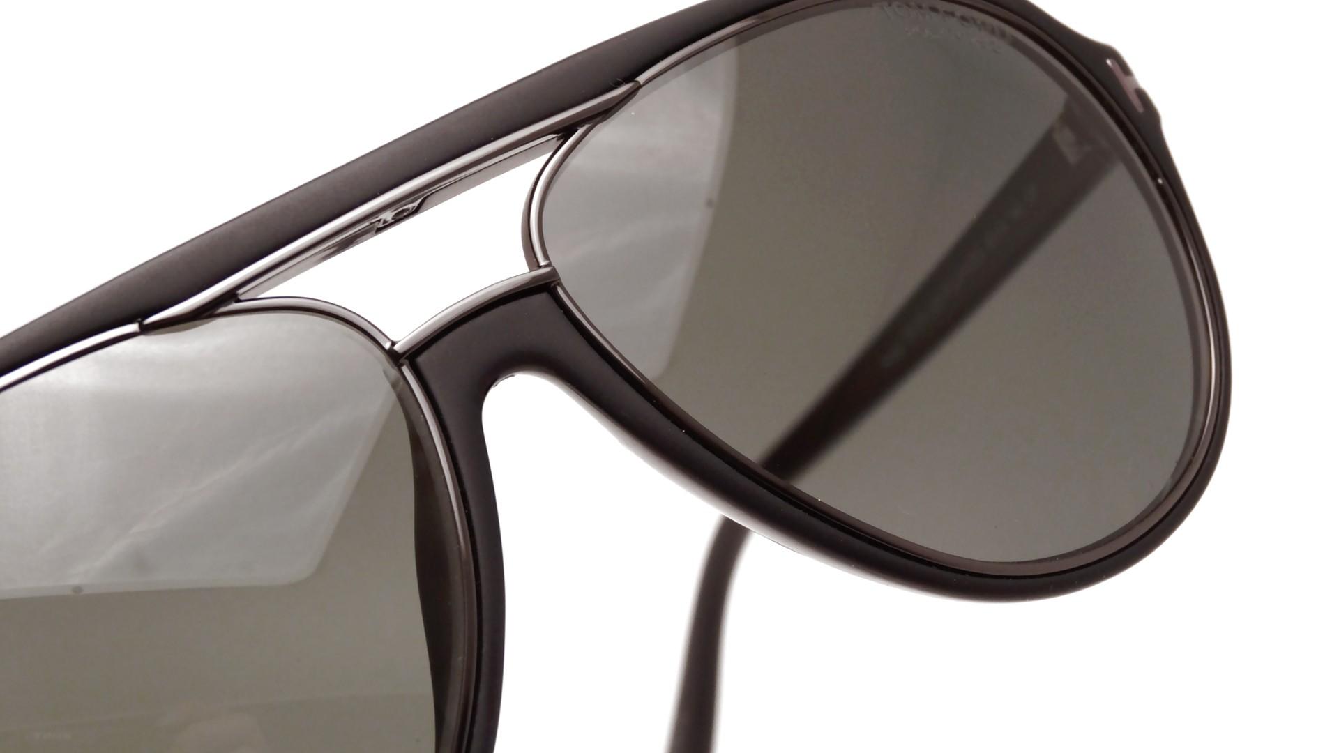 40f1bdaa6605 Tom Ford Mens Sergio Black Sunglasses FT379