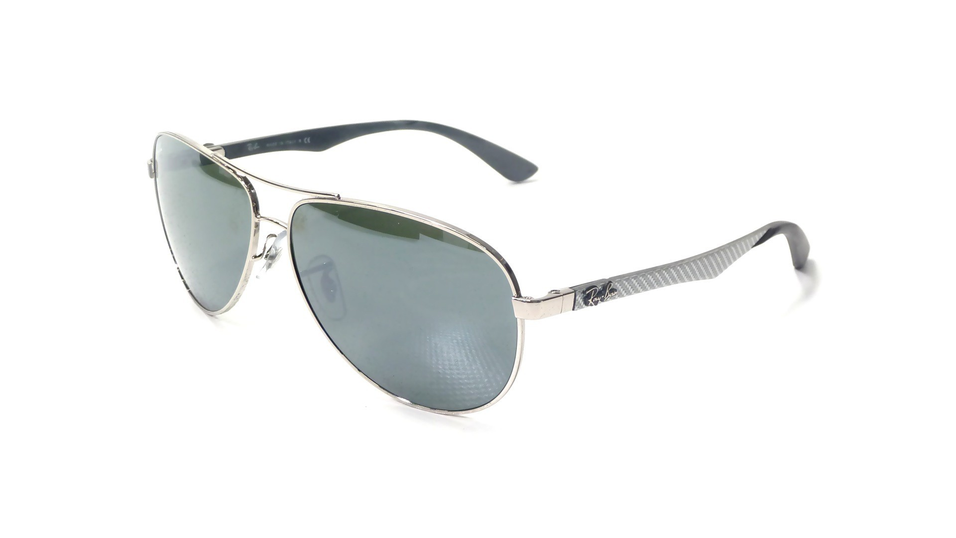 2feb2944f1 Ray-Ban Fiber Carbon Silver RB8313 003 40 58-13