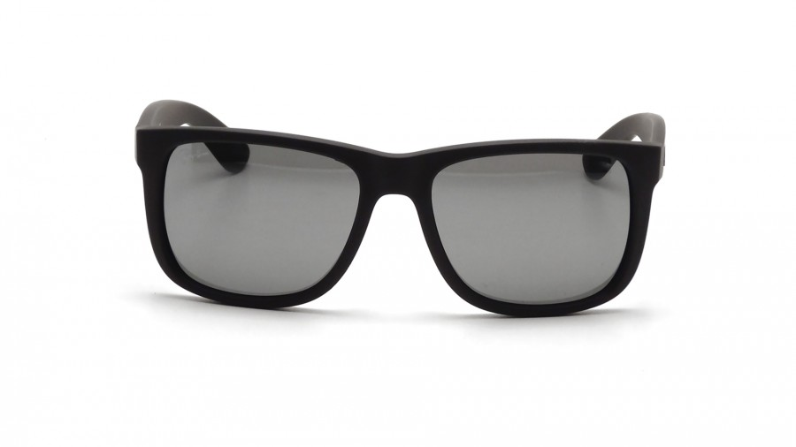 2bff7eaea7 ... Color Mix Grey Mirror Sunglasses RB4165 622 6G 55 - Justin - Ray-Ban  Justin Black RB4165 622 6G 51-16