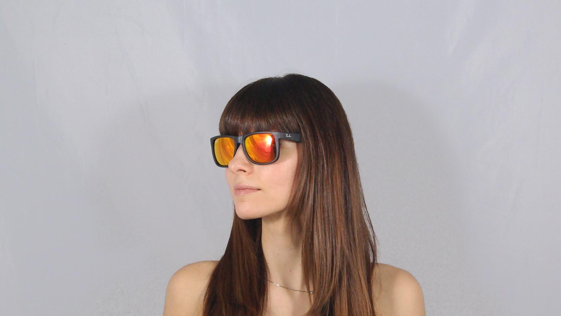 3ec4691afc ... germany sunglasses ray ban justin black rb4165 622 6q 51 16 medium  mirror 342cf a2f84