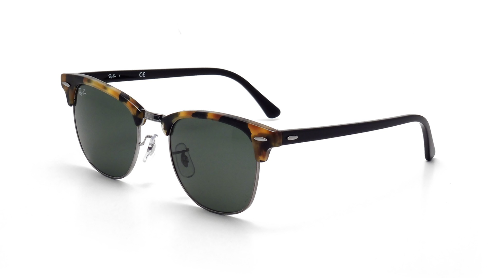 6302945a0cb Sunglasses Ray-Ban Clubmaster Fleck Tortoise G15 RB3016 1157 49-21 Small