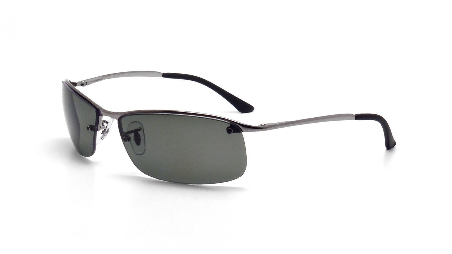 f940c8394d1 Sunglasses Ray-Ban RB3183 004 9A 63-15 Silver Large Polarized