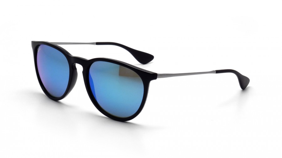 ray ban verre bleu