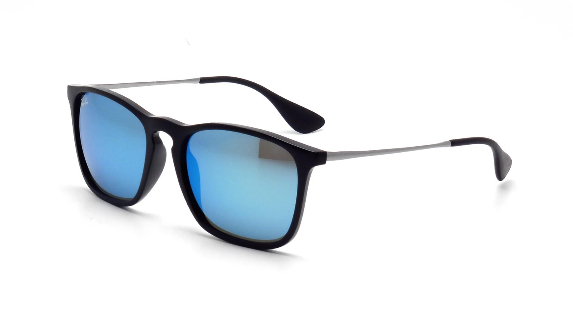 d5cd44482f Sunglasses Ray-Ban Chris Black RB4187 601 55 54-18 Medium Mirror