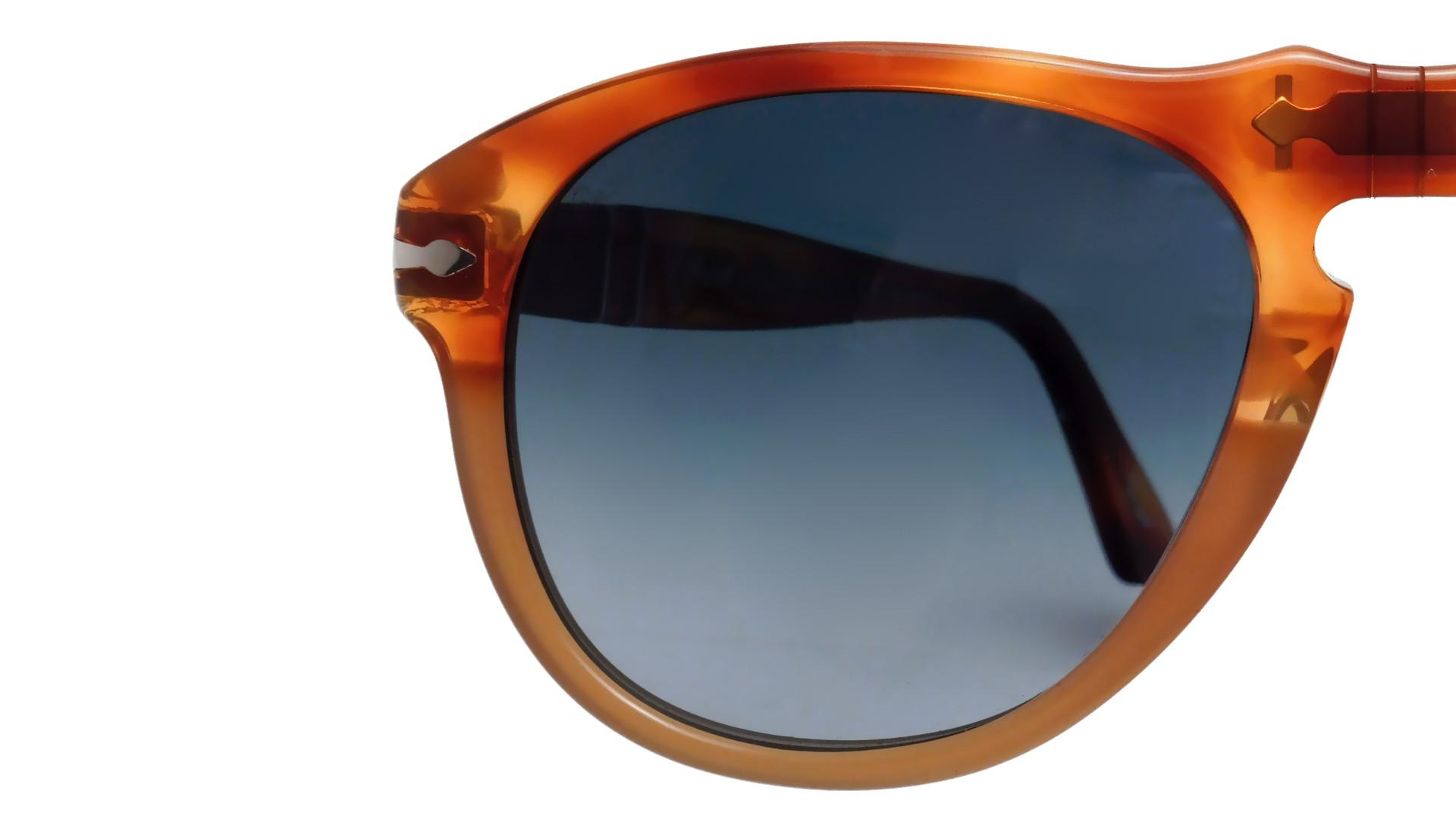 914940a1140fa Sunglasses Persol PO0649 1025 S3 52-20 Resina e Sale Tortoise Medium  Polarized Gradient