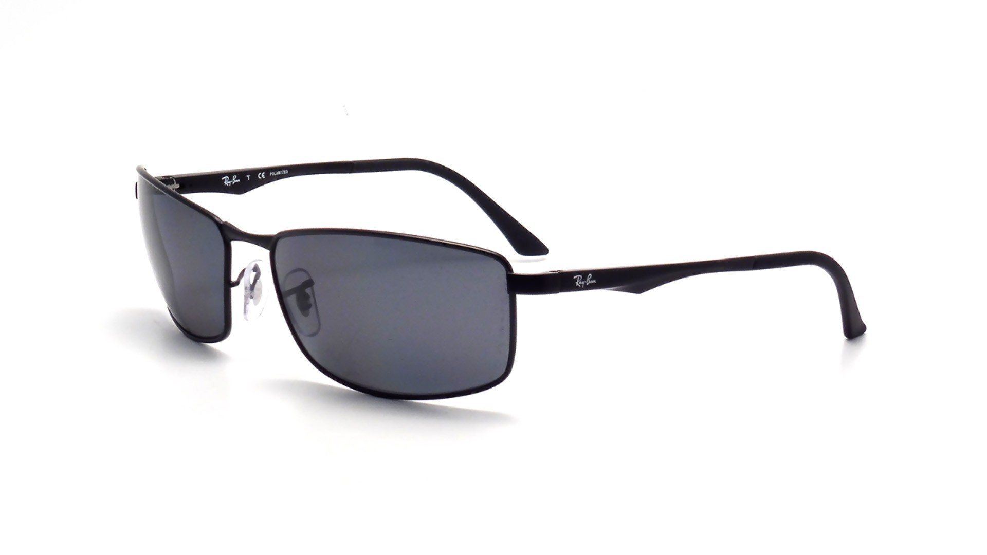 4a0363499c0 Sunglasses Ray-Ban RB3498 006 81 64-17 Black Large Polarized