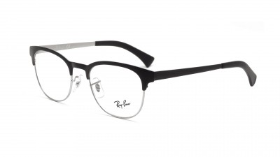 ebba388569d Lunettes de vue Ray-Ban Clubmaster Black RX6317 RB6317 2832 51-20 ...