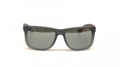 Sunglasses Ray-Ban Justin Grey RB4165 852 88 54-16 Large Mirror b1a05a5e37