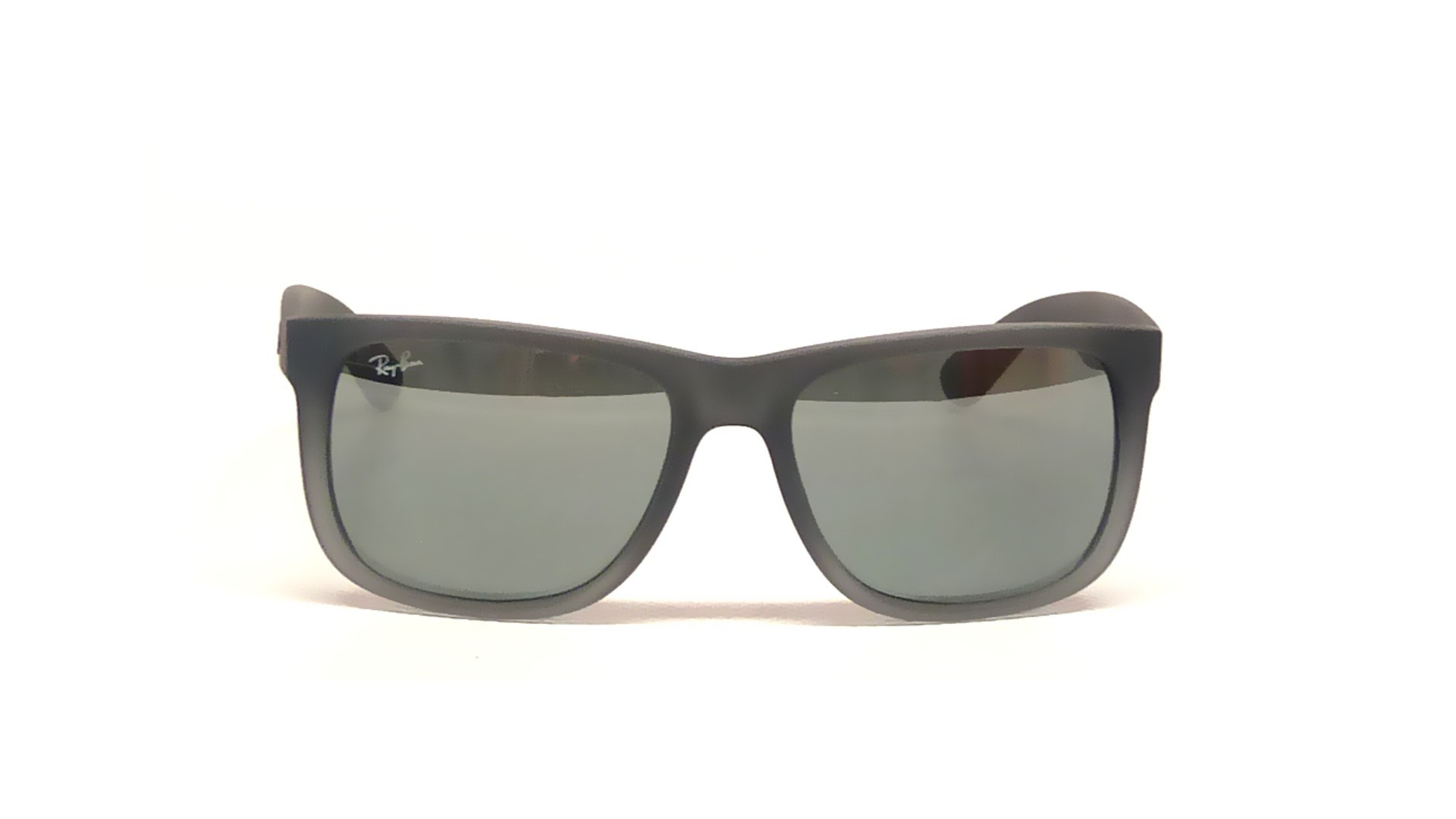 98d158e3f Ray-Ban Justin Rb4165 852/88 Grey Rubber-silver Gradient Mirror 54mm ...