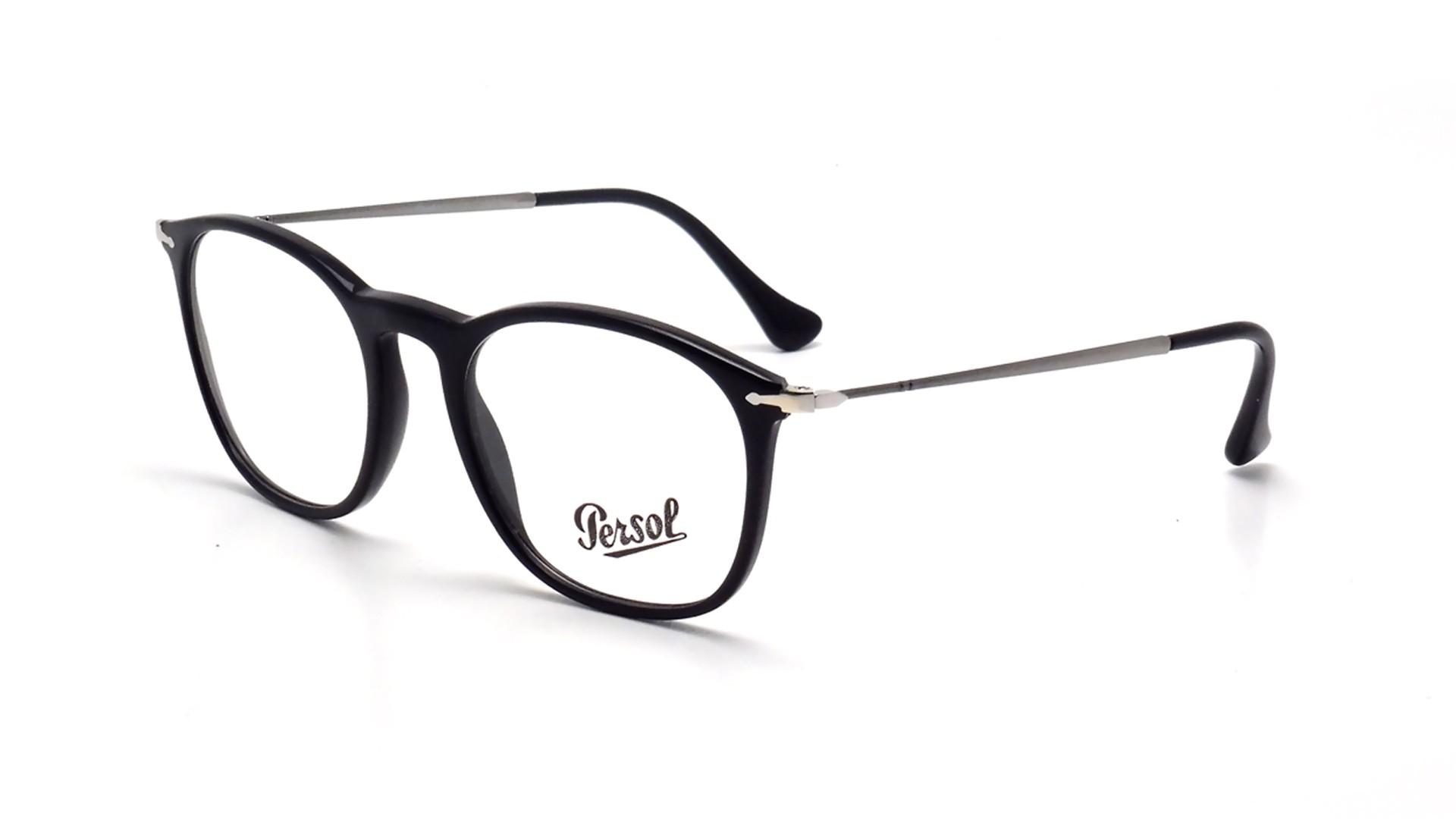 Eyeglasses Persol Reflex Edition Black PO3124V 95 50-19 Medium 43e887bbb213