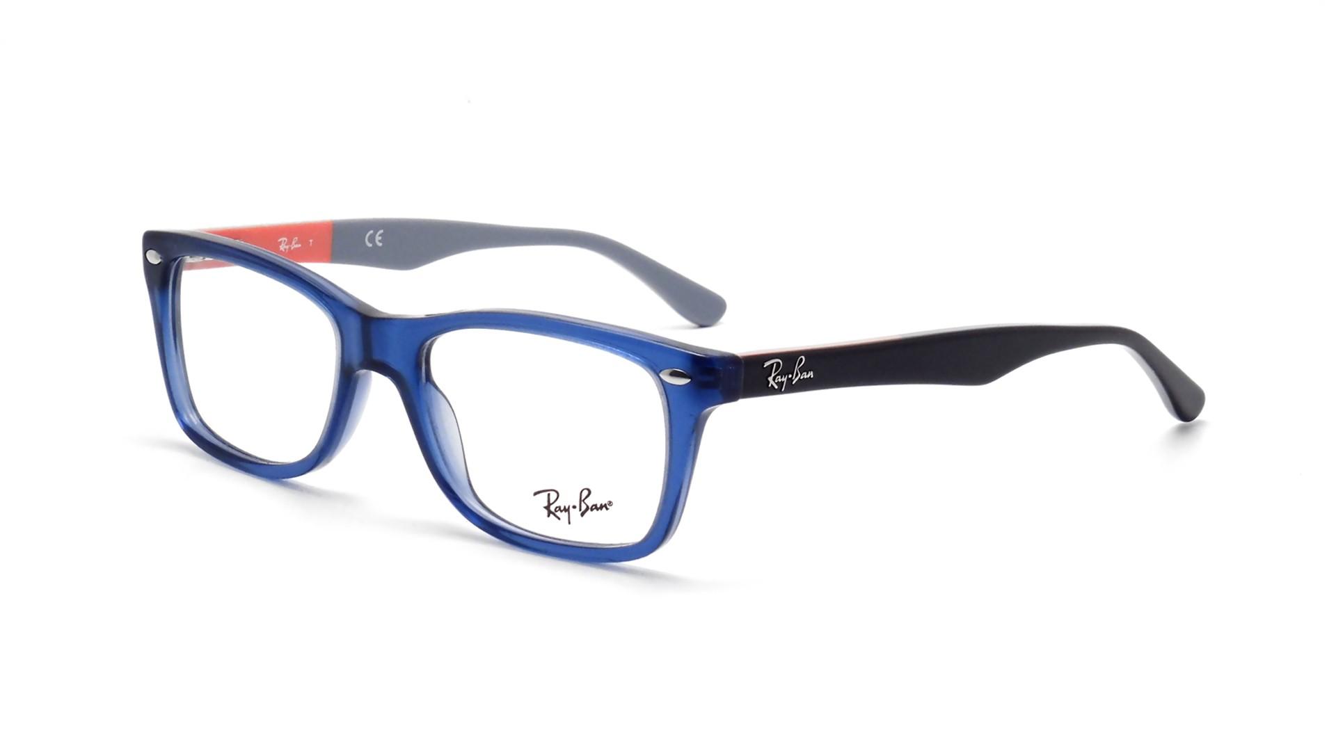 8b5713eae6d91 Eyeglasses Ray-Ban RX5228 RB5228 5547 50-17 Blue Medium