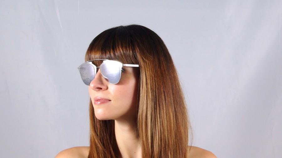 693720a0cc2d7 Sunglasses Dior Reflected Silver 85L DC 52-21 Medium Mirror