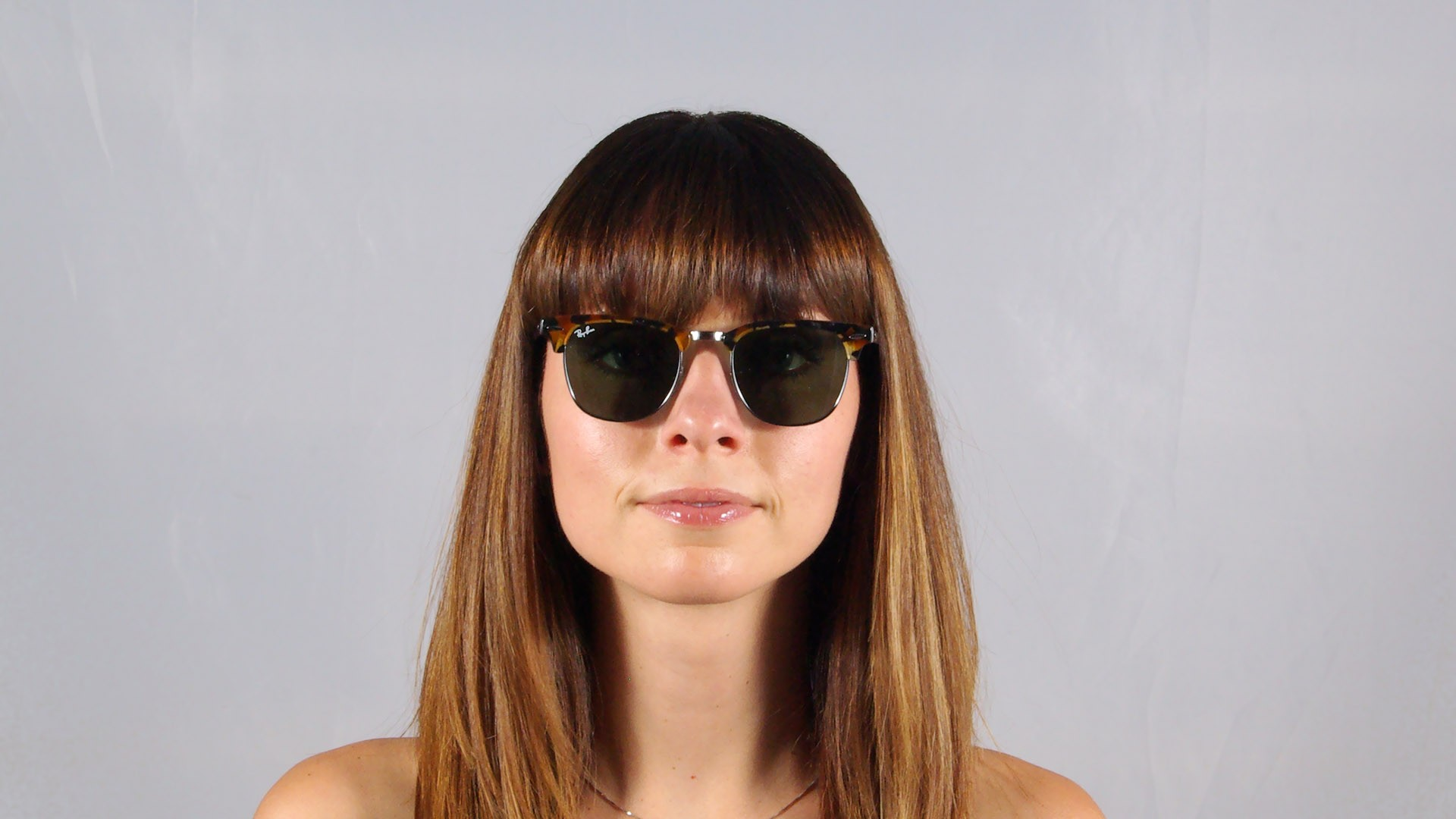 b10cb64a93e Sunglasses Ray-Ban Clubmaster Fleck Tortoise G15 RB3016 1157 49-21 Small