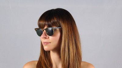 be855e1ffde ... Ray-Ban Clubmaster Fleck Tortoise RB3016 1157 49-21 ...