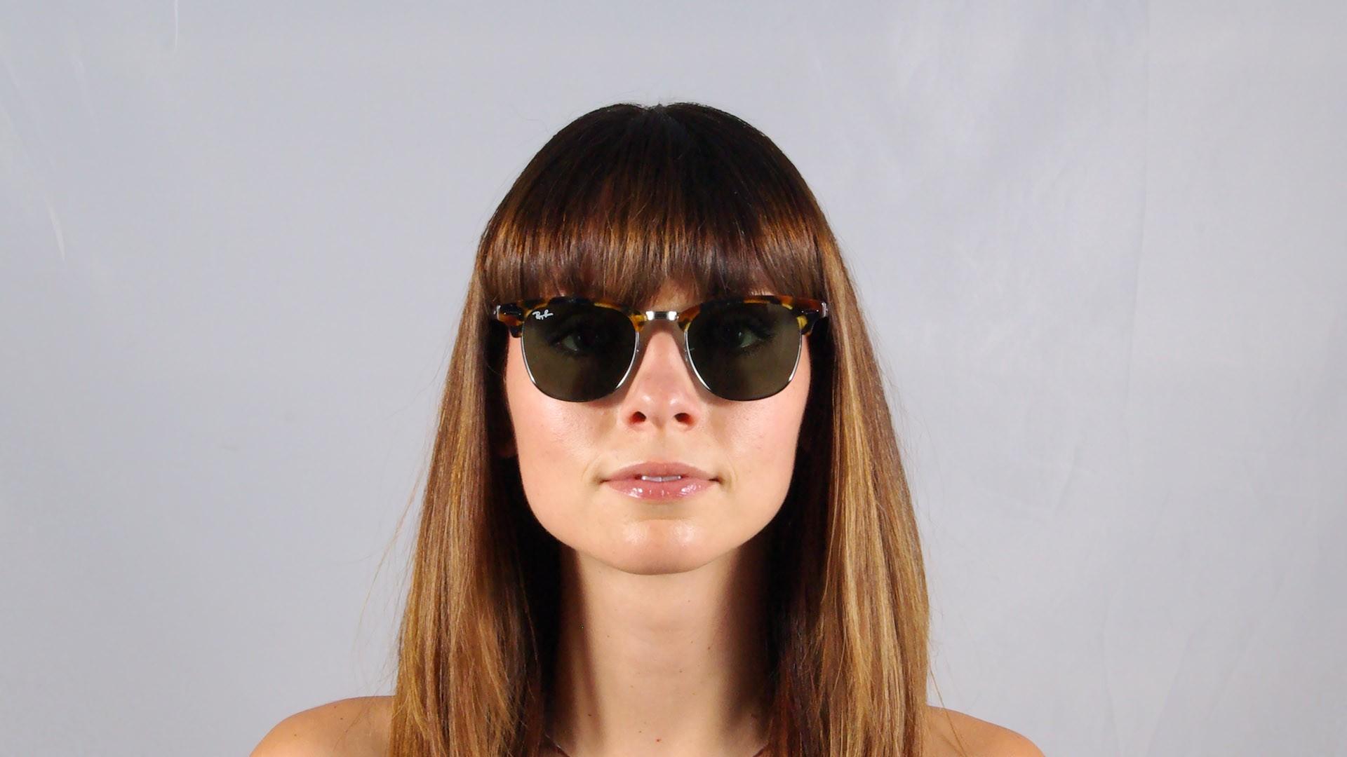 2e3b34f603b Sunglasses Ray-Ban Clubmaster Fleck Tortoise G15 RB3016 1157 51-21 Medium