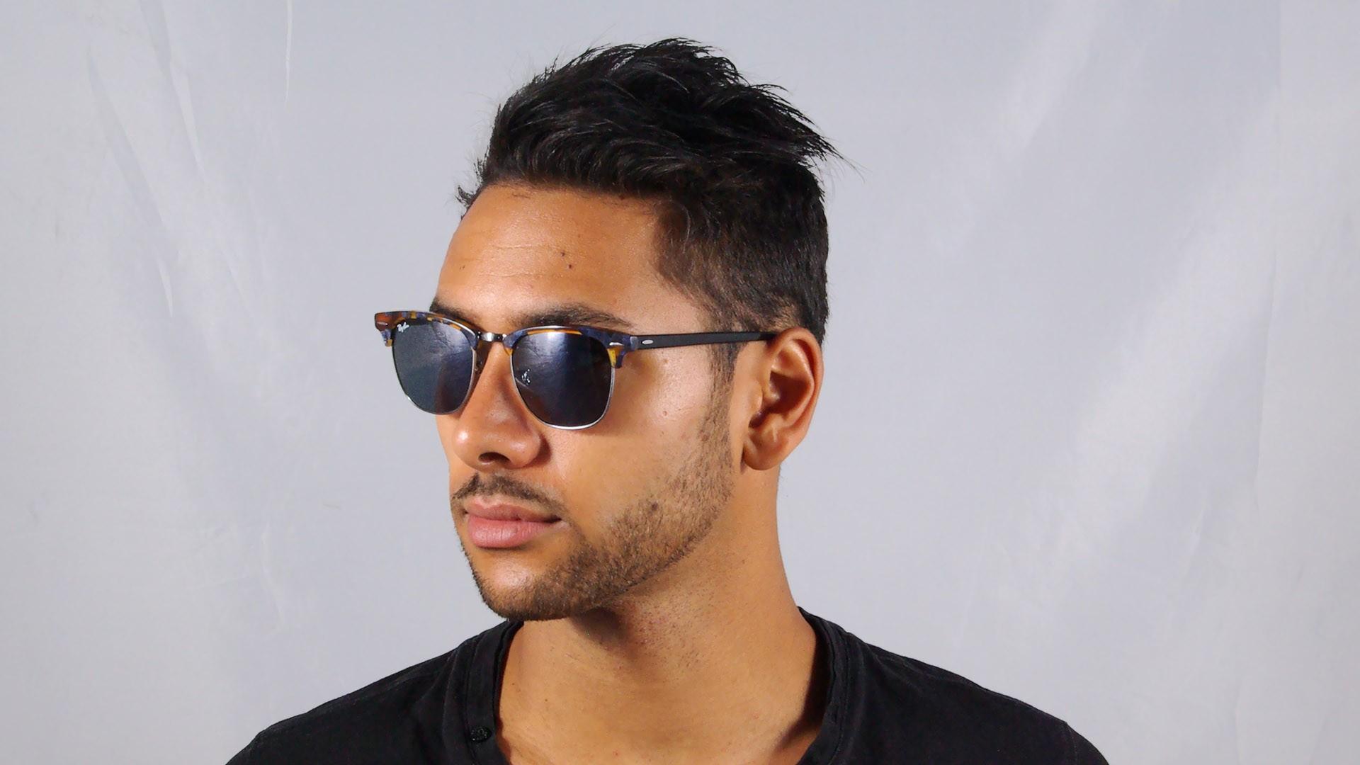 6b35a12a00 Sunglasses Ray-Ban Clubmaster Fleck Tortoise G15 RB3016 1158 R5 51-21 Medium